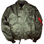 Sage Green Flight Bomber Jacket