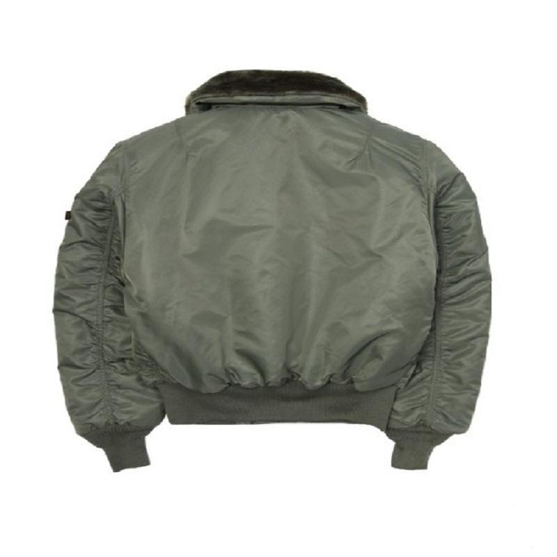 Satin Green B-15 Jacket