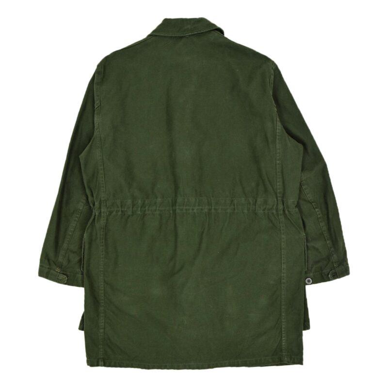 Swedish Military Field Coat Olive Green Oversized