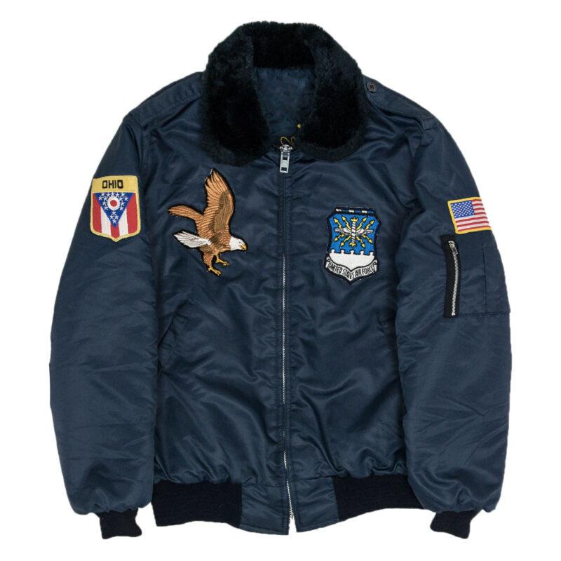 Vintage 70's USAF Style Bomber Jacket