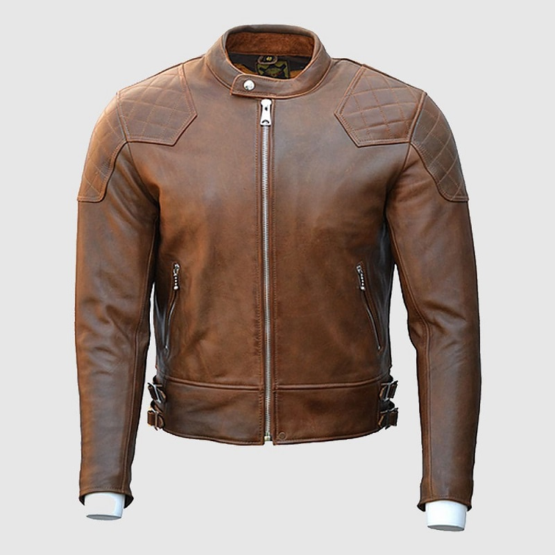Goldtop 76 Armoured Leather Jacket