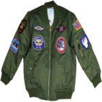 MA-1 Green Flight Bomber Jacket