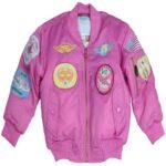 MA-1 Pink Flight Bomber Jacket