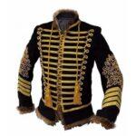 Military Uniform Napoleonic Hussar Jacket