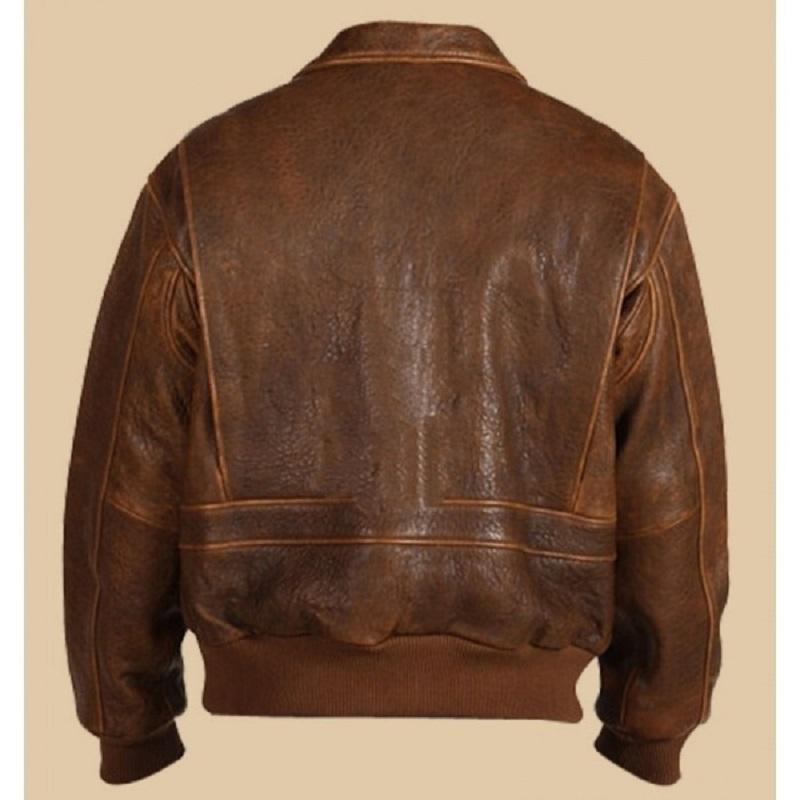 Scully Vintage Brown Bomber Jacket