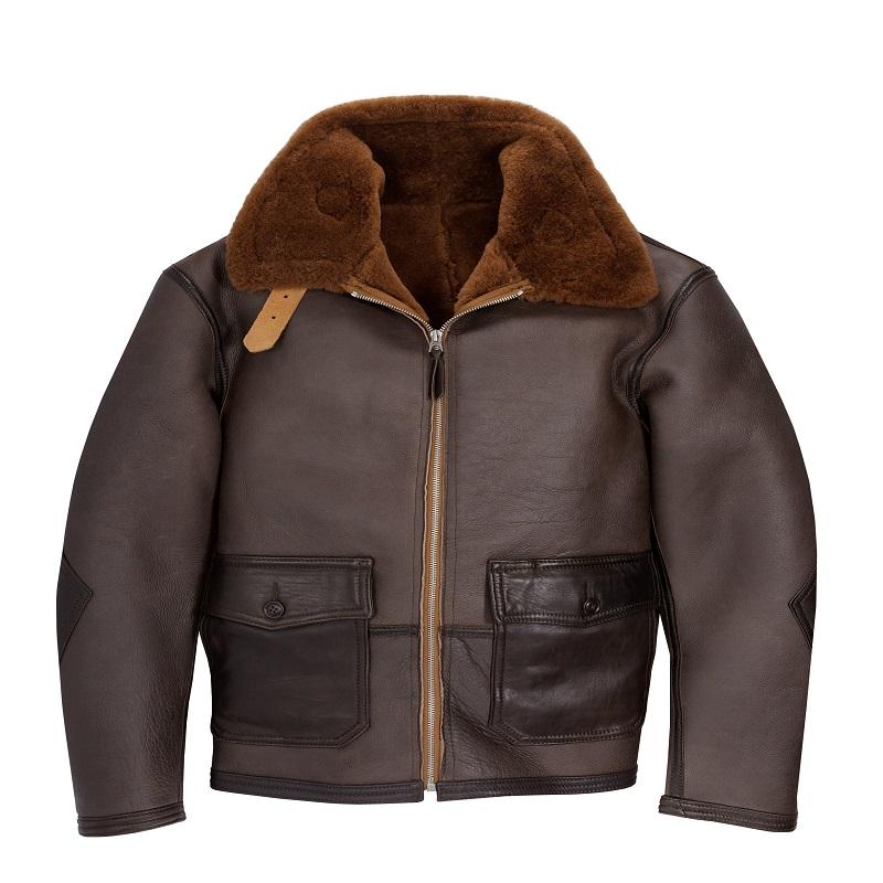 The C44 Sheepskin Flight Jacket
