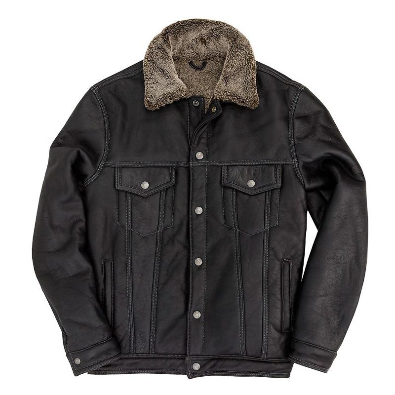 The Sheepskin Trucker Flight Jacket
