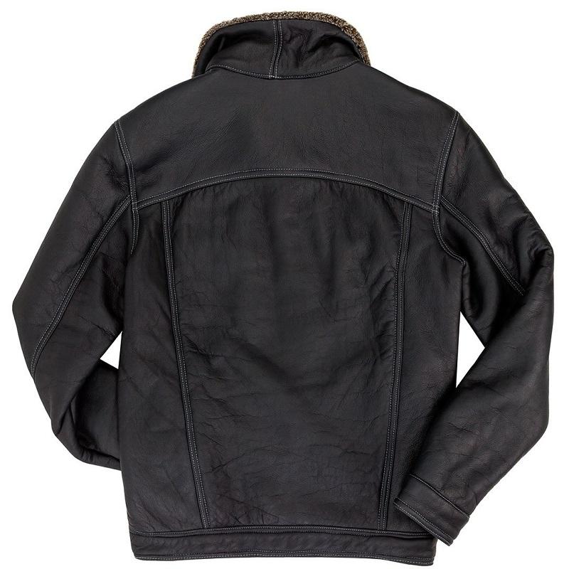 The Sheepskin Trucker Flight Leather Jacket