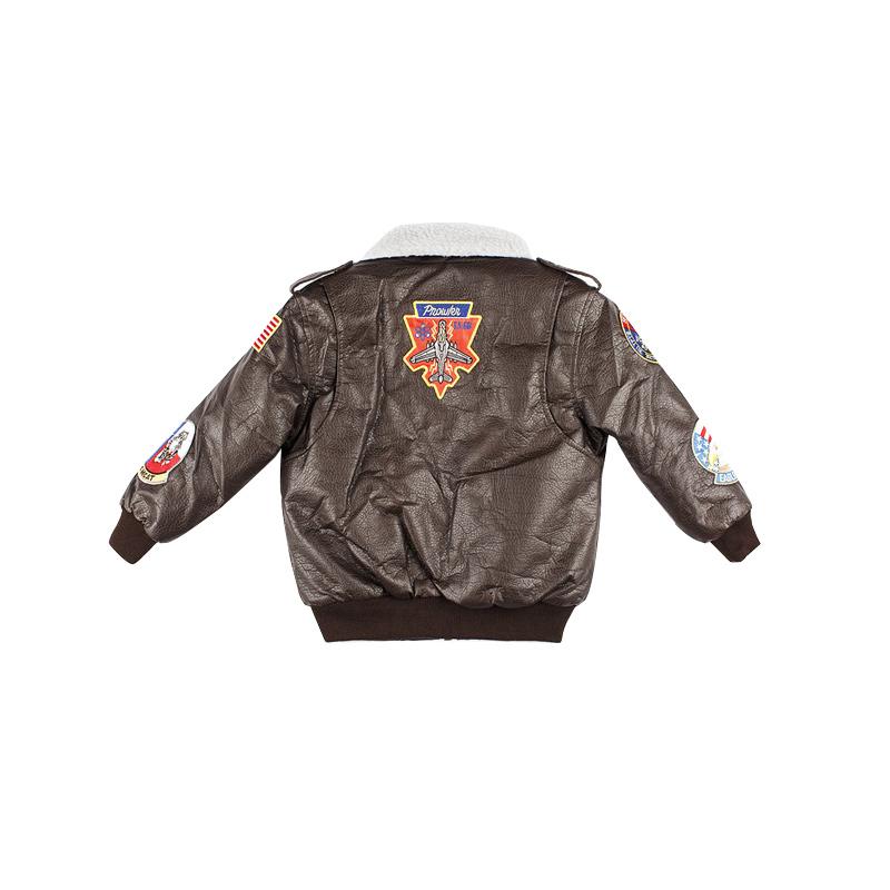 Top Gun G-1 Bomber Brown Jacket