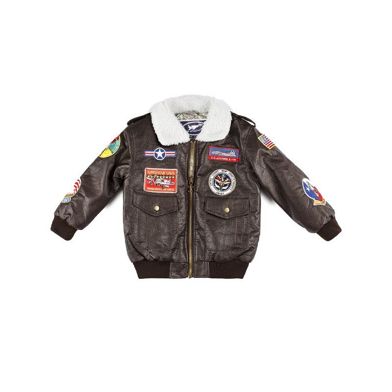 Top Gun G-1 Brown Bomber Jacket